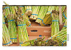 Asparagus Carry-all Pouch by Tom Gowanlock