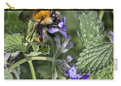 Carry-all Pouch featuring the photograph Bee by David Gleeson