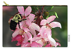 Carry-all Pouch featuring the photograph Buzzing Beauty by Elizabeth Winter