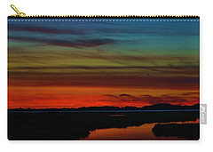 Deep Marshland Sunset Carry-all Pouch