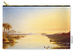 Egyptian Oasis Carry-all Pouch by John Williams