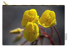 Desert Evening Primrose Carry-all Pouch by Joe Schofield