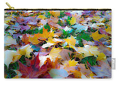Fall Leaves Carry-all Pouch by Steve McKinzie