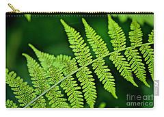 Fern Seed Carry-all Pouch by Sharon Elliott