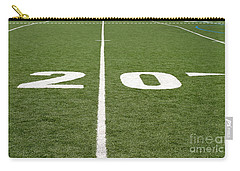 Carry-all Pouch featuring the photograph Football Field Twenty by Henrik Lehnerer