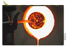 Glass Blowing V Carry-all Pouch