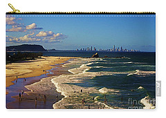 Gold Coast Beaches Carry-all Pouch