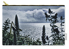 Carry-all Pouch featuring the photograph Golden Gate Bridge - 1 by Mark Madere