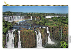 Iguazu Falls Carry-all Pouch by David Gleeson