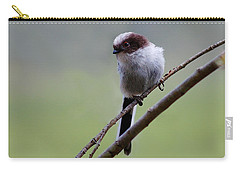 Carry-all Pouch featuring the photograph Long Tailed Tit by Gavin Macrae