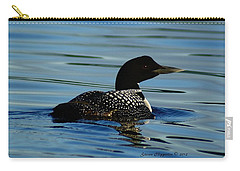 Loon 2 Carry-all Pouch by Steven Clipperton