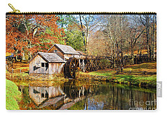 Mabry Mill Carry-all Pouch by Ronald Lutz
