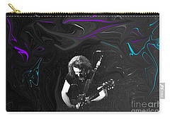 Jerry Garcia - Grateful Dead - Morning Dew Carry-all Pouch by Susan Carella