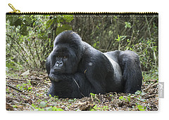 Mountain Gorilla Silverback Resting Carry-all Pouch by Suzi Eszterhas