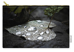 Carry-all Pouch featuring the photograph My Heart Weeps by Peggy Franz