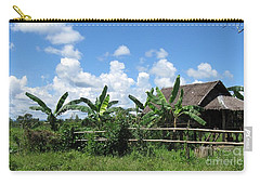 Nipa Hut  Carry-all Pouch by Roberto Prusso