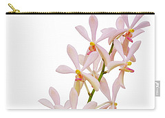 Carry-all Pouch featuring the photograph Orchid Panicle by Atiketta Sangasaeng