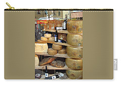 Carry-all Pouch featuring the photograph Parmesan Rounds by Carla Parris