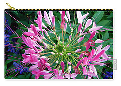 Carry-all Pouch featuring the photograph Pink Flower by Stephanie Moore