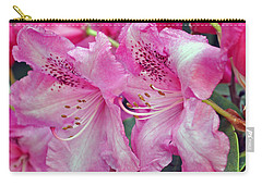 Pink Rhododendrons Carry-all Pouch