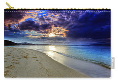 Port Stephens Sunset Carry-all Pouch by Paul Svensen