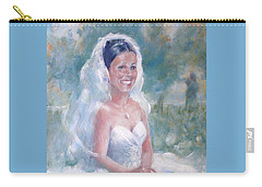 Portrait Of A Bride Carry-all Pouch