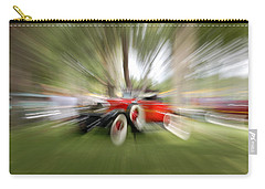 Red Antique Car Carry-all Pouch by Randy J Heath