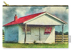 Carry-all Pouch featuring the painting Royster Fertilizers  by Lynne Jenkins