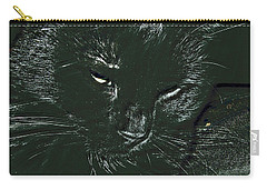 Carry-all Pouch featuring the photograph Satin by Donna Brown
