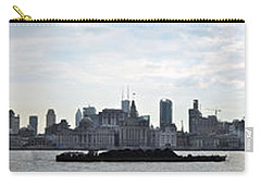 Shanghai Bund Panorama - Daytime Carry-all Pouch