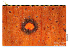 Skin Of Eastern Newt Carry-all Pouch by Ted Kinsman