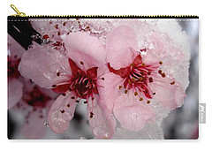 Spring Blossom Icicle Carry-all Pouch by Kerri Mortenson