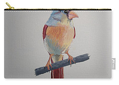 Spring Cardinal Carry-all Pouch