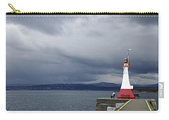 Carry-all Pouch featuring the photograph Stormwatch by Marilyn Wilson