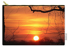 Carry-all Pouch featuring the photograph Sunrise In Tennessee by EricaMaxine  Price
