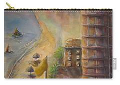 Sunset Beach Carry-all Pouch by Bernadette Krupa
