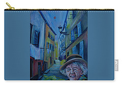 Travel Notebook. Old Nice Carry-all Pouch by Anna  Duyunova