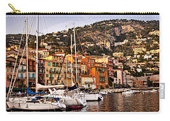 Carry-all Pouch featuring the photograph Villefranche-sur-mer  by Steven Sparks