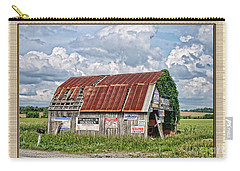 Carry-all Pouch featuring the photograph Vote For Me I by Debbie Portwood
