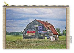 Carry-all Pouch featuring the photograph Vote For Me II by Debbie Portwood