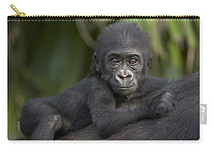 Western Lowland Gorilla Gorilla Gorilla Carry-all Pouch by San Diego Zoo