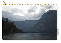 Lake Bohinj At Dusk Carry-all Pouch
