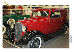 1930's Antique Chevrolet Sedan Carry-all Pouch