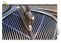 Carry-all Pouch featuring the photograph 1936 Hudson Terraplane by Gordon Dean II