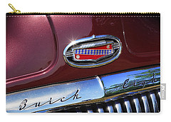 Carry-all Pouch featuring the photograph 1951 Buick Eight by Gordon Dean II