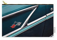 Carry-all Pouch featuring the photograph 1958 Chevrolet Bel Air by Gordon Dean II
