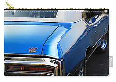 Carry-all Pouch featuring the photograph 1971 Buick Gs by Gordon Dean II