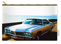 Carry-all Pouch featuring the photograph 1971 Chevrolet Impala Convertible by Sadie Reneau