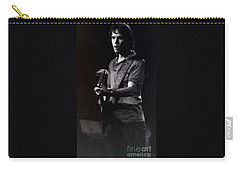 Bob Weir Of The Grateful Dead Carry-all Pouch by Susan Carella