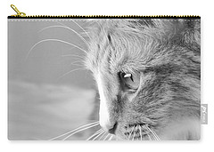Flitwick The Cat Carry-all Pouch by Jeannette Hunt